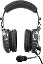 FARO G3 ANR Aviation Headset (Active Noise Reduction) Carbon Fiber Premium Pilot Headset with Bluetooth