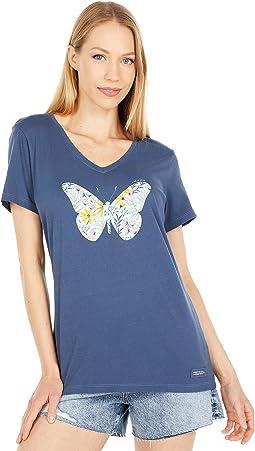 Ewildflower Butterfly Crusher-Lite Tee