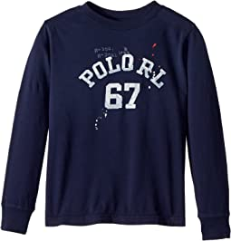 Polo Ralph Lauren Kids - Cotton Jersey Graphic T-Shirt (Little Kids/Big Kids)
