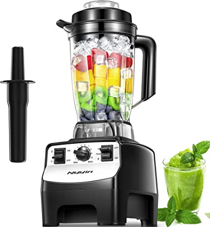Blender Smoothie Maker, 2000W Professional Countertop Blender with 10 Speed Control