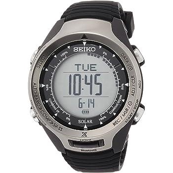 [セイコーウォッチ] 腕時計 プロスペックス ALPINIST Bluetooth通信機能 ソーラー ハードレックス SBEL001