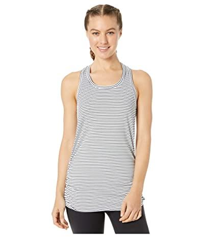SKECHERS Dart Racer Tank Top (White/Black) Women