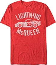 Fifth Sun Cars Men's Lightning McQueen T-Shirt