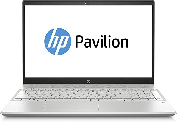 HP Pavilion 15-cw1020ng  15 6 Zoll Full HD IPS  Laptop  AMD Ryzen 3700U  16 GB DDR4  512 GB SSD  AMD Radeon RX Vega 10  Windows 10 Home  silber