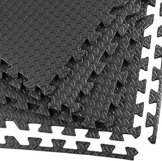 Clevr Interlocking Gym EVA Foam Floor Mat Tiles (24