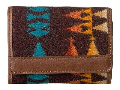 Pendleton Trifold Wallet (Redtop) Bill-fold Wallet