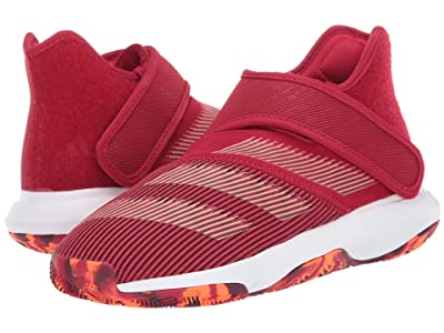 adidas Kids Harden B/E Basketball (Big Kid) (Red/White/Orange) Kids Shoes