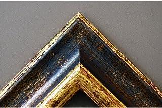 cd6082545e Artecentro Cornice Dorata per Quadri - Oro/Colore con o Senza passepartout  in Legno-
