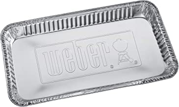 Weber 6454 Extra Large Drip Pans, 5-Pack
