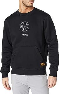 G-STAR RAW Men's Multi Graphic Pocket Sweatshirt