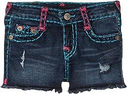 Bobby Raw Edge Shorts (Toddler/Little Kids)