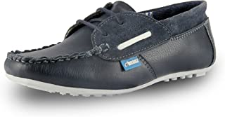 Beanz Miles Mocassin Navy/Beige Shoes for Boys