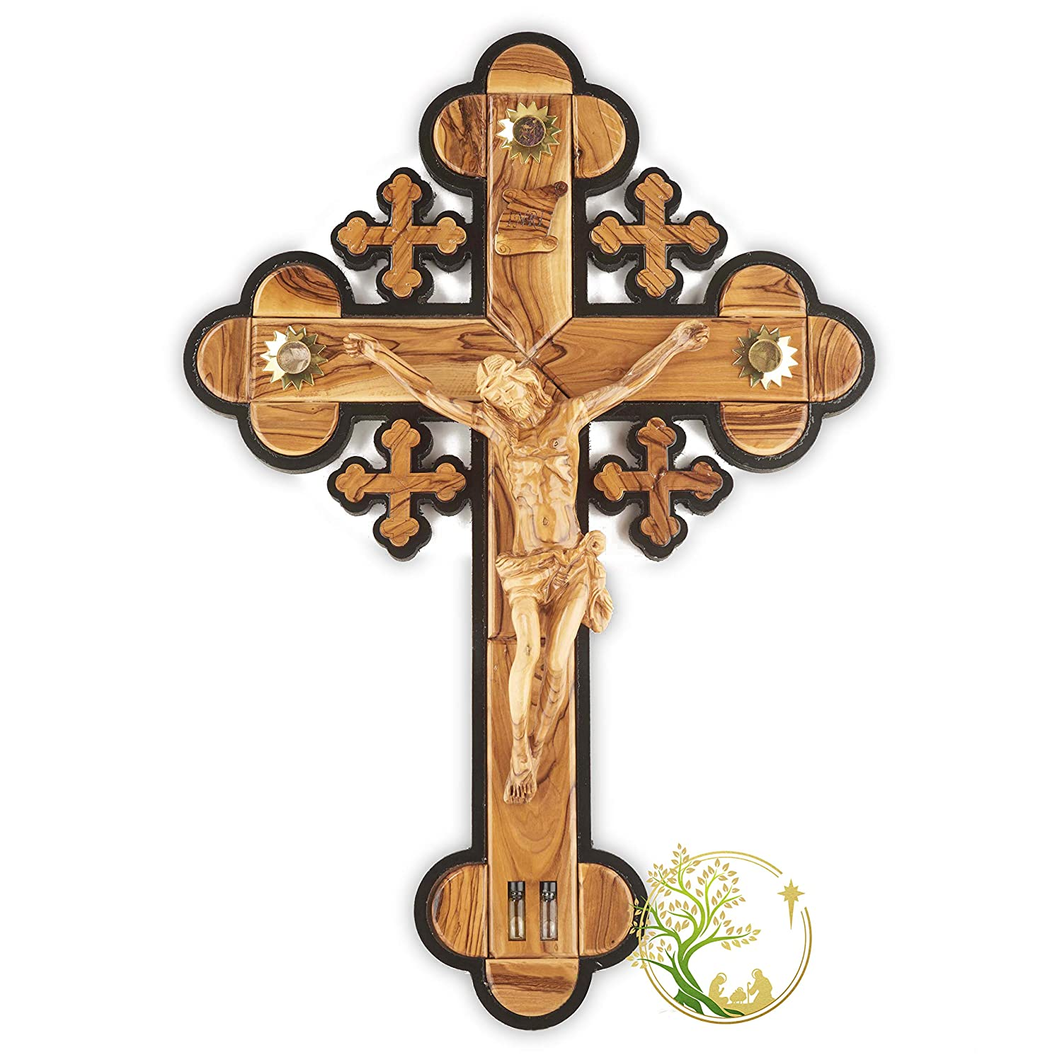Extra Large All stores are sold Jerusalem wall Dealing full price reduction hanging Crucifix Wall Cr Cross Holy -