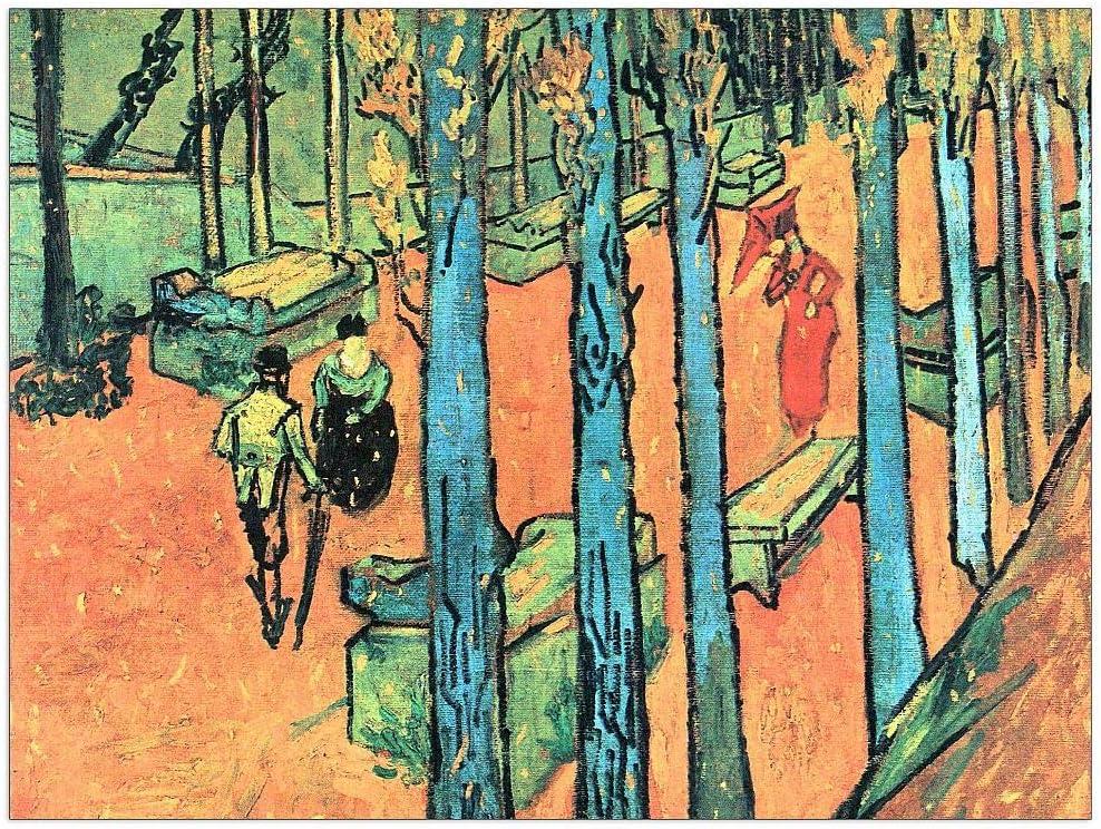 ArtPlaza Van Gogh Vincent Brand Cheap Sale Venue - Les Decora falling Alyscamps leaves New item
