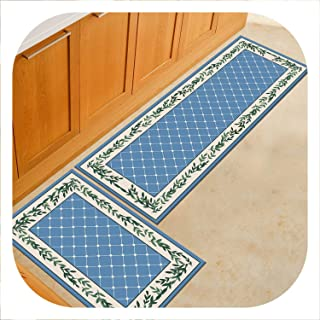Chery-Story Long Kitchen Mat Bath Carpet Floor Mat Home Entrance Doormat Absorbent Bedroom Living Room Floor Mats Modern Kitchen Rugs,Geometric24,40x120cm