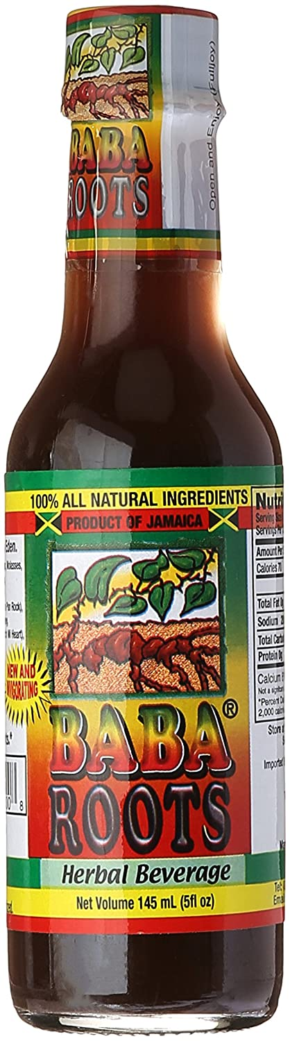 Baba Roots Super popular specialty store Herbal Energy Drink 5 Sale Natural Fl All Oz. Ingredi 100%