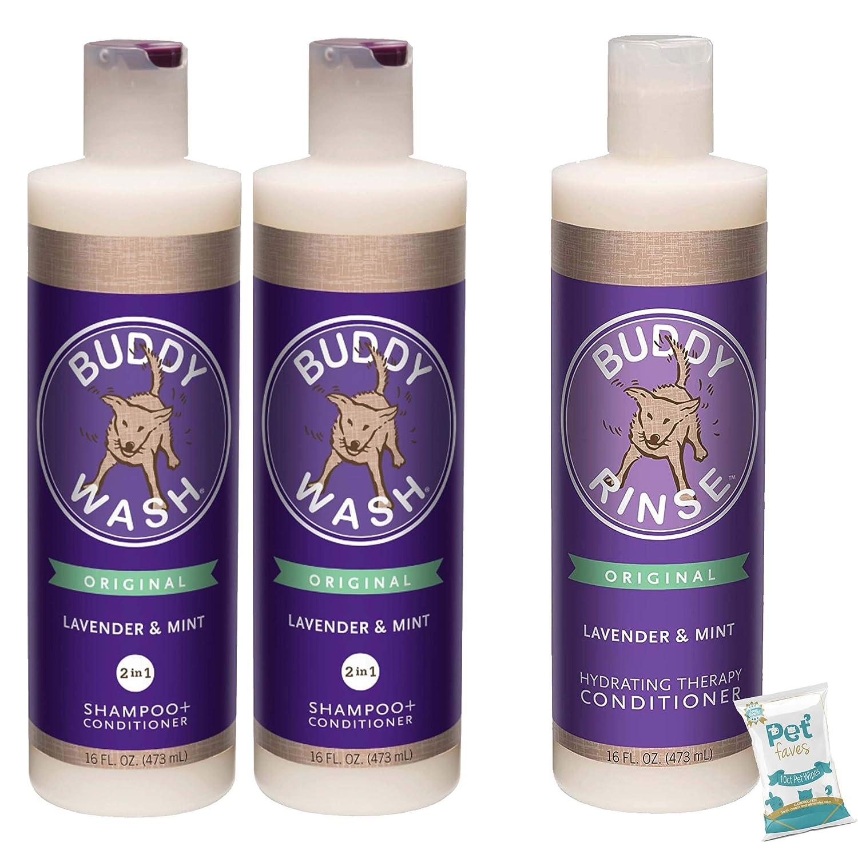 Pet Faves 3 Pack Luxury Cloudstar Mint Shampoo Buddy Lavender Superlatite Wash