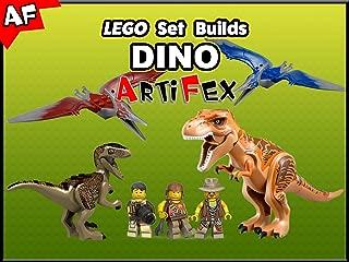 Clip: Lego Set Builds Dino - Artifex