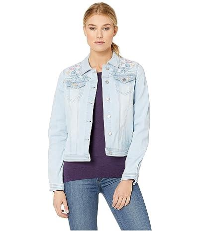 FDJ French Dressing Jeans Statement Denim Pastel Embroidered Jacket (Celestial) Women