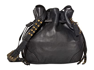 FRYE AND CO. Dallas Crossbody (Black) Cross Body Handbags