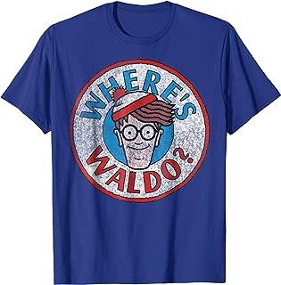 Where's Waldo Classic Circle Logo Graphic T-Shirt