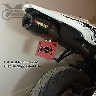 07-12 CBR600RR Fender Eliminator for an Akrapovic Exhaust
