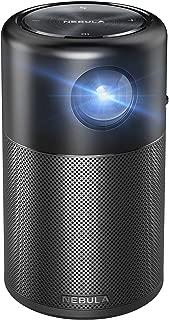 Anker Nebula Capsule (Android搭載モバイルプロジェクター)【100 ANSIルーメン/DLP搭載/360度スピーカー】