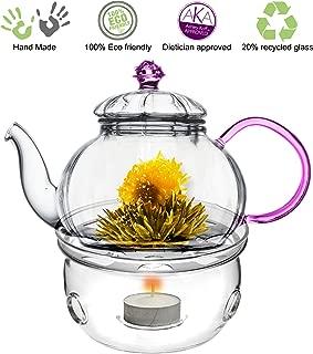Tea Beyond Teapot Juliet with Tea Warmer Cozy