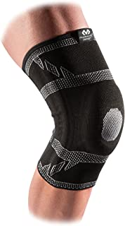 McDavid 5133 Elite Engineered Elastic™ Knee Sleeve with gel buttress and stays with Compression Knee Support for Knee Pain Relief