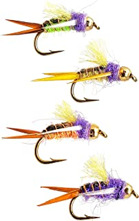 The Fly Crate Prince Nymph Fly Variety Assortment | Fly Fishing for Trout