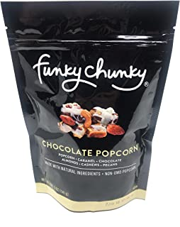 FunkyChunky 9650 Chocolate Popcorn Large Bag