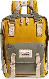 Macaroon Backpacks | Casual Korean Twill Nylon Backpack |11