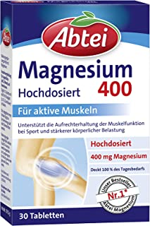 Abtei Magnesium 400 tablets 30 pieces, 39.5 g