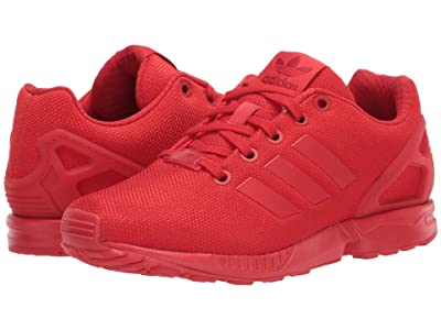 adidas Originals Kids ZX Flux (Big Kid) (Red) Kids Shoes