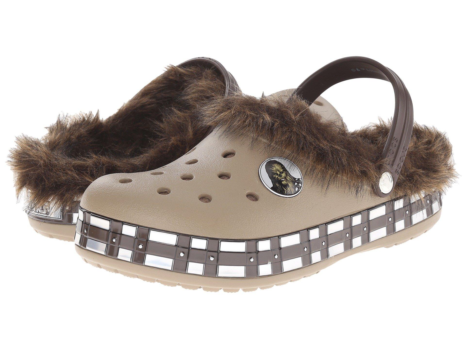 Calzado Sin Talon para Hombre Crocs CB Star Wars Chewbacca Lined Clog  + Crocs en VeoyCompro.net
