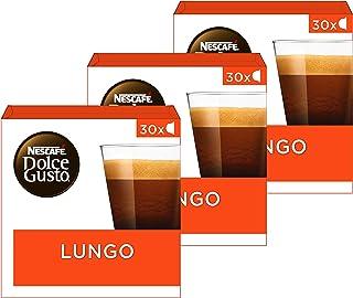 Nescafé Dolce Gusto capsules Lungo - voordeelverpakking - 90 koffiecups - geschikt voor 90 koppen koffie - Dolce Gusto cups