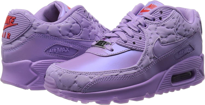 Nike Air Max 90 QS Baskets Violet Paris Pack Chaussures pour Femme ...