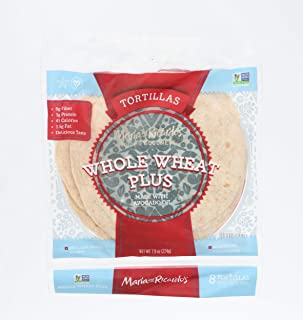 Maria & Ricardos, Tortillas Whole Wheat Low Carb 6 Inch, 7.9 Ounce