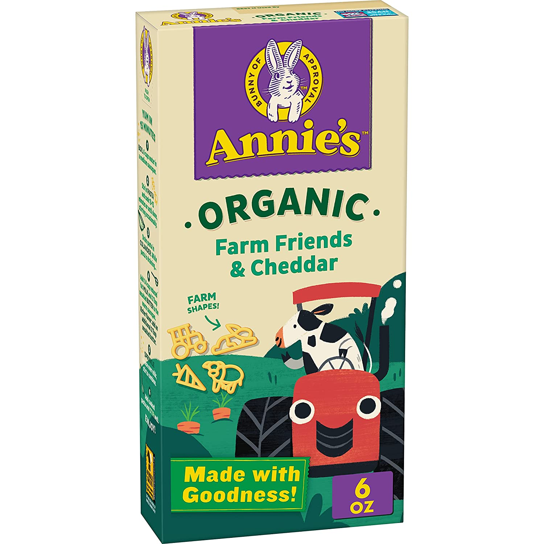 Popular overseas Annie's Organic Bernie's Farm Macaroni oz sale Cheese 6 Box