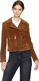 Best brown suede biker jacket Reviews