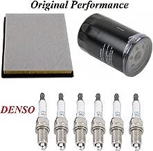 8USAUTO Tune Up Kit Air Oil Filters Spark Plug Fit DODGE DURANGO V6; 3.7L 2004-2008