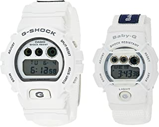 Casio Sport Watch Digital Display Lov-16C-7Dr, White Band, For Unisex