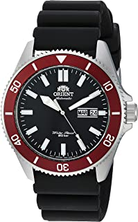 "Orient Men's""Kanno"" Stainless Steel Japanese Automatic/Hand-Winding 200 Meter Diving Style Watch"