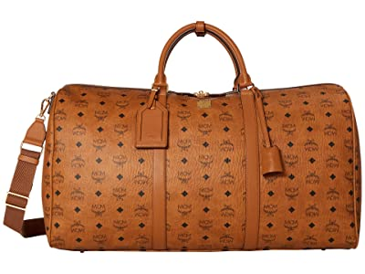 MCM 55 Traveler Visetos (Cognac) Bags