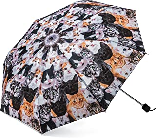 Cat Umbrella - Compact & Portable Accessory with Photo-Realistic Kitty Images