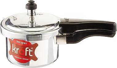 Kraft 1.5L Aluminum Pressure Cooker, 1.5-Liter