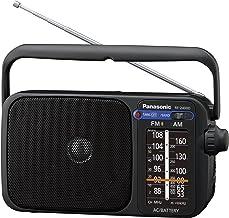 Panasonic RF-2400DEG-K - Radio Portátil FM/Am, (770mW,