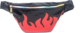 Dolores Waist Bag Shiny Holographic Fanny Pack Bum Bag with Adjustable Strap for Women Men
