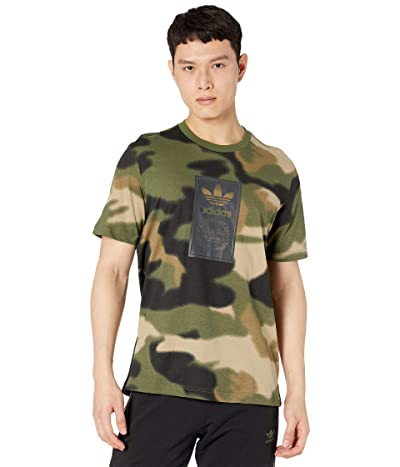 adidas Originals Camo All Over Print Tongue Tee Men