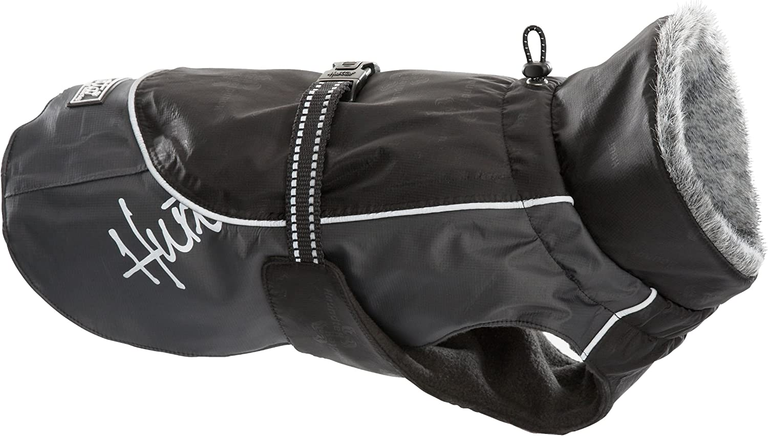Hurtta Pet Collection Winter Jacket, 9Inch Length, 1214Inch Neck, 1418Inch Chest, Black